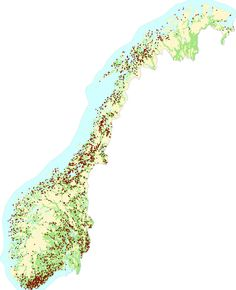 4264 Places in Norway with the most common place name in Norway (Stormyra) Place Names, Norway, Maps, Landscape, World, Places, The World, Scenery, Landscape Paintings