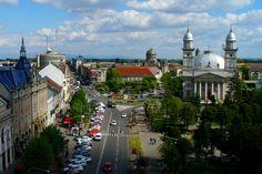 .romania,satu-mare -centrul orasului