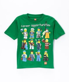 LEGO 'Career Opportunities' Boys Tee