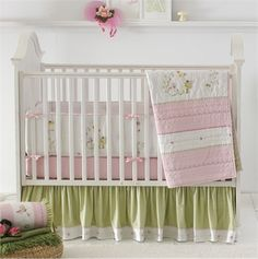 Rosenberry Rooms has everything imaginable for your child's room! Share the news and get $20 Off  your purchase! (*Minimum purchase required.) Fairyland Crib Bedding Set #rosenberryrooms
