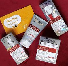 Thanks L'Oreal for my Revitalift Bright Reveal skincare kit!  #loreal #gotitfree…