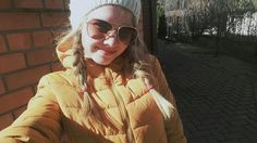 Girl warm sun autumn Russia spring