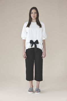 Shirt with front bow 145.00$