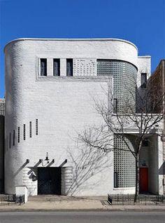 Architecture Homes Art Deco Frank Fisher Studio. Andrew Rebori and Edgar Miller. Arte Art Deco, Art Deco Bar, Estilo Art Deco, Art Deco Design, Streamline Moderne, Futuristic Architecture, Architecture Design, Bauhaus Architecture, Modern Architecture House