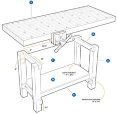 workbench 1 #woodworkingbench