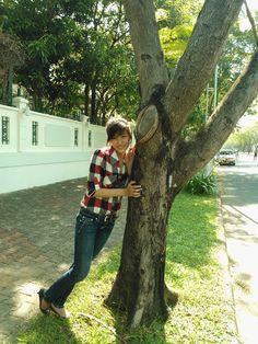 Đổ cây người ta bây giờ :))
