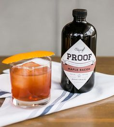 Maple Bacon Old Fashioned Cocktail Syrup by Proof on Scoutmob Shoppe