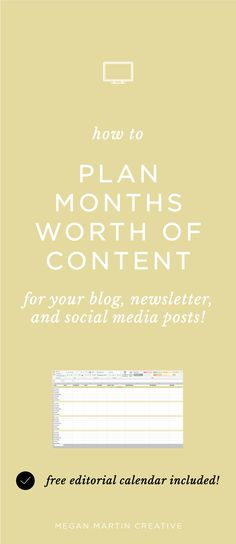 how to plan months worth of content to market your business! blog, blogging, email marketing, instagram tips, social media tips, social media schedule, pinterest tips