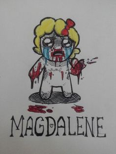 The binding of isaac-Magdalene