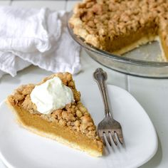 Pumpkin Pie with Mac