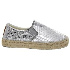 Ibiza 2016, Leather Espadrilles, Slip On, Flats, Sneakers, Silver, Shoes, Fashion, Loafers & Slip Ons