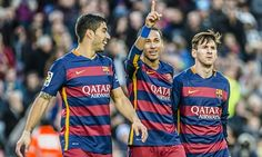 In the last 12 months, Luis Suárez, Neymar and Lionel Messi have notched 138 goals between them.