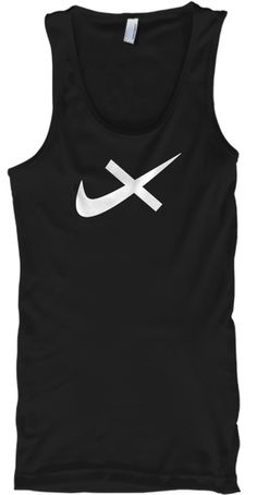 Black Unisex Tank, Just Don't Nike Anti-Logo  Say no more to corporate branding!   Sell yourself, not others by refusing to pay to be an advertisement for big business. This shirt tells others you will not be a pawn for corporate profit. Don't be pwned!