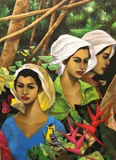 Tres Marias. Hermes Alegre. Charlies Art Gallery