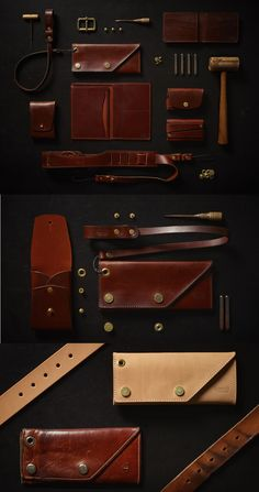 Tanner Goods. Leather always looks especially good grouped.