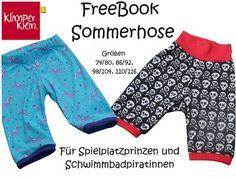 Kinderhose / Kid's pants ... für den Sommer, aber man kann sie ja auch einfach verlängern / for summer, but you can make them easily longer