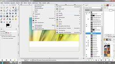 So finden Sie sich zurecht - GIMP 2.8