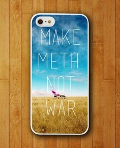 Breaking Bad Make Meth Not War Land Scenery iPhone Skin Protector for iPhone 4 4S 5 5S 5C http://www.gajetto.nl ✿ ☻  ☻  ☻