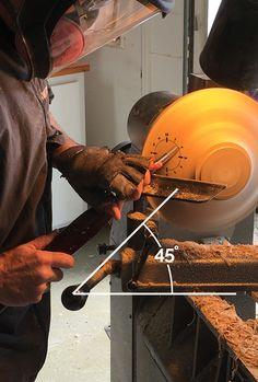 Bowl Gouge Technique Shear Scrape Tool Angle