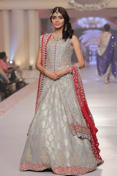 Telenor Bridal Couture Week 2015 Zainab Chottani Dresses Collection
