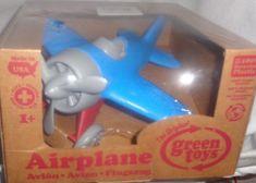 Toy Airplane Classic Toys Kids Toddler Hobbies Outdoor Fun Green Toys Boy Girl #GreenToys