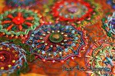 A beautiful photo provided by Midwest Fiber Arts Trail blog.You can see more of my beading and autographed copies of my books at www.beadcreative.com