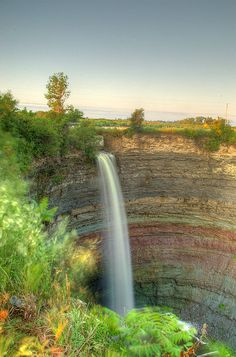 Devils punchbowl #HamOnt what a great photo of one of our many waterfalls!