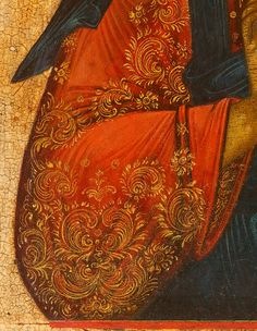 Detailed view: VV027. Christ Pantocrator- exhibited at the Temple Gallery, specialists in Russian icons