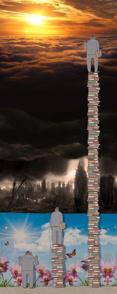 This is really powerful. Reading is super important and I think this captures a very interesting view on the concept of knowledge.Reading opens the world to you and gives you new perspectives on life. I Love Books, Good Books, Books To Read, My Books, Reading Books, Reading Art, Book Fandoms, Book Lovers, Book Worms