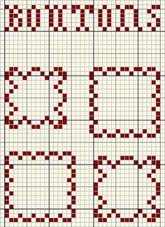 un solo color Mini Cross Stitch, Cross Stitch Borders, Cross Stitch Designs, Cross Stitch Patterns, Crochet Chart, Filet Crochet, Diy Perler Beads, Ladder Stitch, Hand Embroidery Stitches