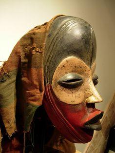 Lot 771 Outstanding Dan Poro Society Ceremonial Mask w Medicine Cloth Liberia | eBay