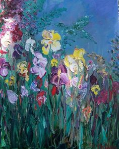 "Claude Monet - I love his work, ""Iris"" is definitely one of my favorites. We have many irises in our gardens, I often think of Monet each Spring when they are blooming. More"