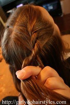 Girly Do Hairstyles: By Jenn: Two Strand Braid