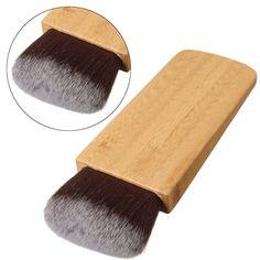 1 Pcs Nouveau Maquillage Brosse Tourbillon Puissance Contour Bronzer Bambou Poignée Blush Cosmétique Fondation Synthétique Cheveux Outil de Beauté