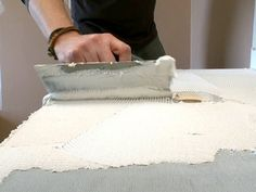 How to Create a Mosaic Glass Tile Countertop : How-To : DIY Network
