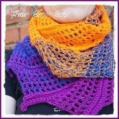 Die 186 Besten Bilder Von Tuch In 2019 Crochet Scarves Crochet