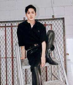 Album 3 > Aron < Aron Nu Est, T Dress, Kpop, Pledis Entertainment, Handsome Boys, Pop Group, New Day, Teaser, Leather Skirt