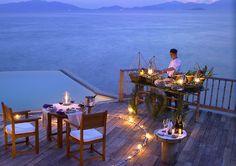A romantic private in-villa barbecue at Six Senses Ninh Van Bay, Vietnam. http://www.sixsenses.com/resorts/ninh-van-bay/accommodation/villas-and-suites