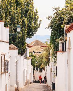 Granada, Spain #spain #city #sightseeing