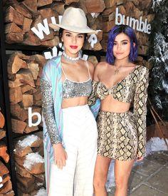 Kendall + Kylie Jenner @ Coachella... Style goals.