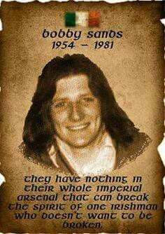 Tal Bobby Sands, Northern Ireland Troubles, Irish Republican Army, Irish Independence, The Ira, Irish American, American Girl, Michael Collins, Irish Pride