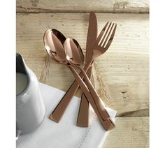 Buy Heart of House 24 Piece Cutlery Set - Rose Gold at Argos.co.uk, visit Argos.co.uk to shop online for Cutlery, Tableware, Cooking, dining and kitchen equipment, Home and garden