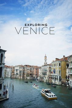 Photos from a short trip to Venice. It felt like a dream
