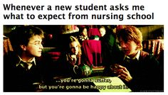 Nursing: when you're not sure whether it's Saturday or Tuesday.