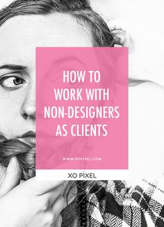 We all know this client, their favorite font is papyrus, and they really like the idea of neon red text on a vibrant blue background to show, you know, a little personality. This article has some tips on how to work with non-designers; clients who do not have a background in design and just need a little help.