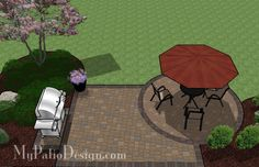 Small Patio on a Budget   Patio Designs and Ideas