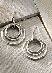 love these silver earrings