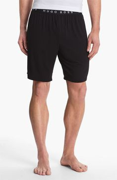BOSS HUGO BOSS 'Innovation 2' Lounge Shorts available at #Nordstrom