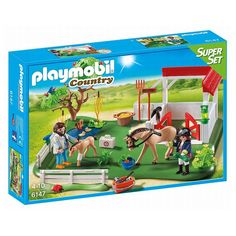 Playmobil Country Horse Paddock Super Set   6147, Multicolor