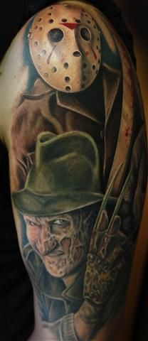 freddy and jason tattoos | freddy and jason fade (Mobile).jpg